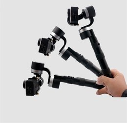 Wholesale Gopro Hero Holding - Wholesale-Intelcloud Z1-ground PTZ hand-hold 3-aixs gimbal for Gopro whole series hero 3 +   4 and SJ4000-7000, xiaoyi, Firefly