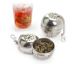 Wholesale Stainless Steel Tea Bag - Genuine Stainless Steel Utility flavored balls   filter bags   Tea Balls Kitchen gadgets   tea strainer ball
