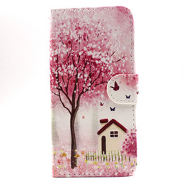 Wholesale Bear 5c - 2015 New Butterfly Moon Dandelion Bear Girl Wallet PU Leather Case For iPhone 5c 5s 6 6s iPhone 6 Plus 6s plus