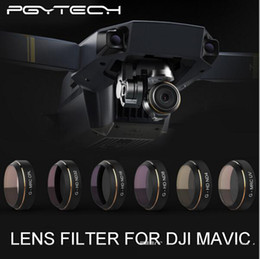 Wholesale Hd Uv Filter - PGYTECH Lens Filters for DJI MAVIC Pro Drone G-UV ND4 8 16 32 CPL HD Filter Accessories gimbal Lens Filter Quadcopter parts