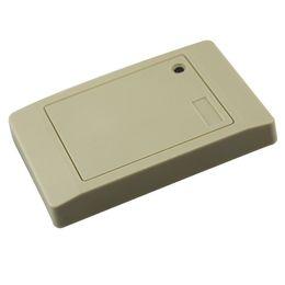Wholesale Rfid Rs232 - 125KHZ Waterproof RS232 RFID ID Smart Door Entry enter office Access Control reader White EM4100 TK4100