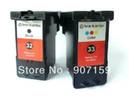 Wholesale Inks Cartridge Lexmark - ompatible Lexmark 32 33 ink cartridge for Lexmark P4350 P6250 P915 X3350 X5250 X5470X7170 X7350 X8350 Z812 series printer Ink Cartridges ...