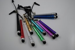 Wholesale Iphone Torch - Baseball Touchpen Torch Universal Touch Stylus Pens Pen Cell for Iphone 4s 5 for Samsung Phone Accessories