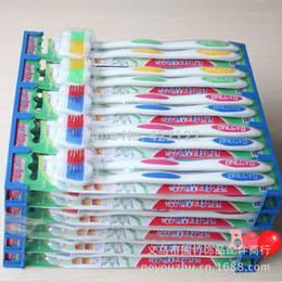 зубные щетки для десен Скидка Корейская зубная щетка Ультра мягкая резинка-защитный анион здоровья бамбук уголь зубная щетка 4шт = 2pack = 1lot TB10