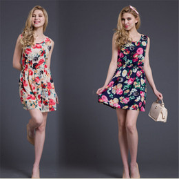 Wholesale Girl S Dresses Flower Fall - Women Lace Dress Sexy Plus Size Fashion Fall Dresses Girls Big yards sundress Small and pure and fresh flower snow spins Women's dress