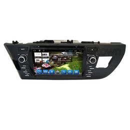 Wholesale Navigation Europe - Car radio with cd player in car dvd navigation system with gps rds wifi mirror link for Toyota Corolla Europe