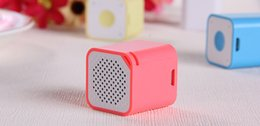 Wholesale Wholesale Small Speakers - 2015NEW Smallest Bluetooth Speaker Smart Sound Box Music Player Speaker with Anti-Lost Camera Remote Shutter Function ZKT