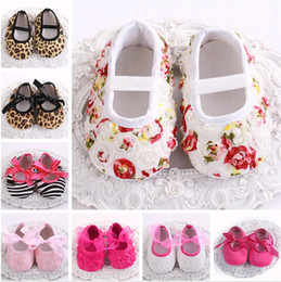 Wholesale Toddler Leopard Shoes For Girls - 2016 Bebe Cheap Leopard Brand baby shoes for kids;Deer newborn baby girl shoes for toddler;Rosette lace shoes baby walker