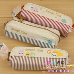 Wholesale Pencil Box Small Wholesale - Wholesale-The appendtiff stationery 47 cute stationery box school supplies ql 11 - 64 small pet puzzle pencil case