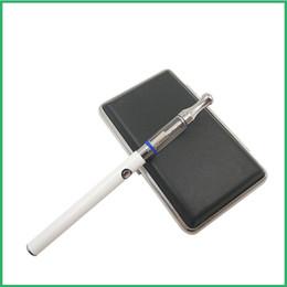 Caso del oem de encargo online-OEM logotipo personalizado botón manual batería precalentamiento bolígrafo cartuchos de doble bobina metal atomizador CE3 kit de caja de metal CO2 vaporizador de aceite