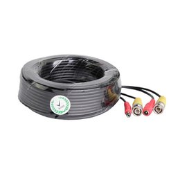 Wholesale Rg59 Bnc - 30m 100feet Security Professional Grade RG59 Combo Coaxial Cable Pre-made All-in-One BNC Video Power Cable for 1080P 720P,TVI,CVI,AHD Camera