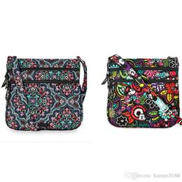 Wholesale Small Mice - 2 Pack Cotton Cartoon Mouse Crossbody Bag Shoulder Bag Purse Satchel Messenger