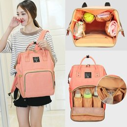 Wholesale Backpack Orange - Mommy Backpacks Nappies Bags Mother Maternity Diaper Backpack Large Volume Outdoor Travel Bags Organize baby bag