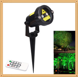Wholesale Feet Yards - Outdoor Waterproof Garden Lighting Laser Tree landscape Projector Green & Red Garden with 10 Feet Cable Christmas Lights for Yard Path LEG_9