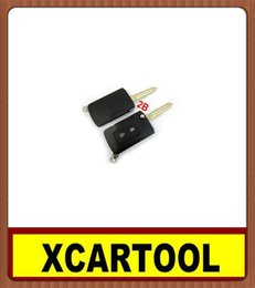Wholesale Mitsubishi Button Flip Key - car Auto key for New Modified Flip Remote Key Shell 2 Button For Mitsubishi 5pcs lot