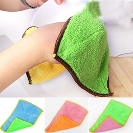 Wholesale Cotton Polyester Wash Cloths - Cotton Kitchen Towels Face Cloth Waste-absorbing Wool Thickening Wash Towel Auto Care Microfiber Cleaning Cloth High Quality