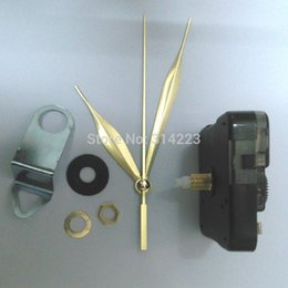 Wholesale Mechanisms For Clocks - Wholesale Shaft 16 .5mm Mute Quartz Clock Movement For Clock Mechanism Repair Diy Clock Parts Accessories Jx044 Free Shipping
