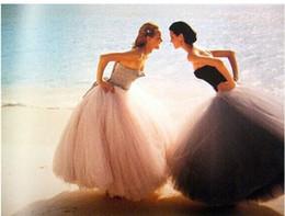 Wholesale Tutu Skirt For Women Fashion - 2015 New Fashion Hot Seller Long Woman Tulle Skirt Tutu Female Skirt Ball Gown For Woman All The Season High Quality Tulle Skirt