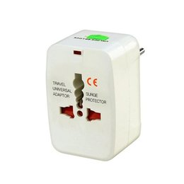 Wholesale European Power Adaptor Converter - All in One Universal Power Adaptor International Plug Jack WorldWide Travel Converter European, United Kingdom, United States, Australia