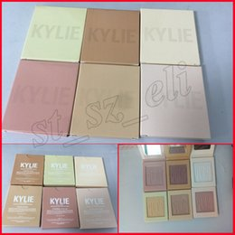 Wholesale Strawberry Candy - Kylie Highlighter Cosmetics Kylighter banana split Strawberry Shortcake Candy Cream French Vanilla Cotton Candy kylie kylighters palette