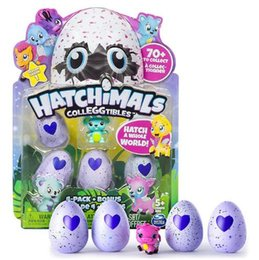 Wholesale Grow Eggs - Hatching Eggs Interactive Cute Fantastic Growing Hatchimals Chrismas Gifts for Kids, Smart Toys for Children Education 4 PCS