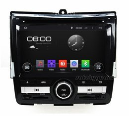 "Wholesale Dvd Car Honda City - 4-Core Android 4.4 HD 2 din 7"" Car Radio Car DVD Player for Honda CITY 2008-2011 With 3G WIFI Bluetooth IPOD TV USB AUX IN"