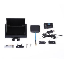 автомобиль с углеродным волокном Скидка 5.8 G 8CH 4.3-дюймовый FPV монитор в реальном времени Экран дисплея передачи с 2.0 MP HD камерой для SYMA X5C X5SC RC Quadcopter частей