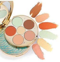 Wholesale check dhl - New Rainforest Of The Sea Check Lip Palette 6 Colors Makeup Eyeshadow Contour Concealer Cream with Good Quality DHL Fast Free Shipping