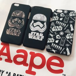 Wholesale Decorations For Mobile Phone Case - US Style Star Wars Decoration Inspired Cell Phone Covers Darth Vader Style Mobile Phone Case Cover