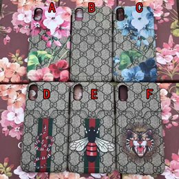 Wholesale Hard Cards - Luxury brand painted phone case for iPhone X 7 6 6S 7 plus with card pocket hard cover for iPhone8 8plus