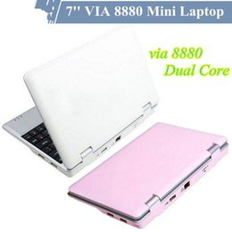 Wholesale Cheap Android Laptop Computer - Cheap 7 inch Android 4.2 MINI laptop netbook VIA 8880 Cortex A9 1.2GHZ HDMI WIFI Camera 512MB 1G 4GB 8GB USB Mini Notebook Android computer