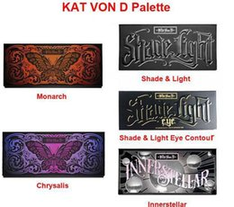 Wholesale Kat Von D Eyeshadow - Kat Von D Makeup 12 Colors Monarch Eyeshadow Palette Chrysalis Eyeshadow Palettes Long-lasting kat von d Brand Cosmetics
