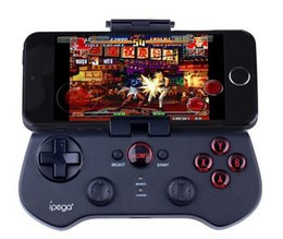Wholesale Bluetooth Wireless Controller - L Ipega PG 9017 s classic wireless bluetooth game controller joystick controllers boys for the iPhone the samsung HTC android ios free shipp