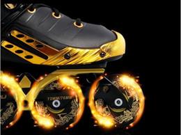 Wholesale Slalom Skates Shoes - Slalom Recommend Adult Inline Skate Shoes for Young Man Girl Daily Street Brush Skating Roller Skates for SEBA CITYRUN FSK