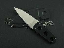 Wholesale 8cr13mov 58hrc - NEWER COLD STEEL secret edge knife Folding Pocket Knife Camping Survival Knife Xmas gift knives 1pcs freeshipping
