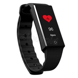 "Wholesale Cheap Tracking - Cheap Z4 0.96"" colorful OLED display Smart sport bracelet watch Bluetooth wristband ALL Day activity tracking heart rate For iphone android"