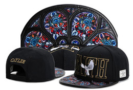 Problemas negros online-Los últimos Cayler Sons galaxy Snapback capsulan los sombreros de béisbol de los hombres del diseñador jodidos PROBLEMAS negro BREAD PAN biggies ¡260 estilos!