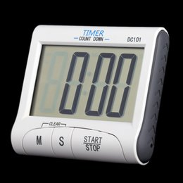 Wholesale Clocks Count Down Time - LCD Digital Kitchen Timer Countdown Cooking Timer Count Down Alarm Clock