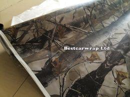 Wholesale Tree Vinyl Free - Ambush Military Cmao Vinyl Car Wrap Film With Air Bubble Free Mossy oak Tree Leaf Camo Wrap Vehicle Wrapping Sticker size 1.52 x 30m Roll