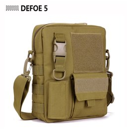 Taktische schultergetriebe online-Großhandels-Molle Satchel Crossbody-Kurier-Umhängetasche, Schule-Freizeit-USA-Vorverteidigungs-ultra helle Strecke Tactical Army Gear Wholesale