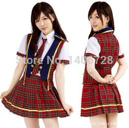 Wholesale Japanese School Cosplay - British School Uniforms For Girl with high Quality 2059 Japanese Dance Cosplay Costume