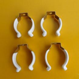 Envío gratis T9 LED Tubo Base de Metal Soporte de la lámpara fluorescente U Clip T9 Clip Conector desde fabricantes