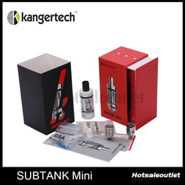 Wholesale kanger rebuildable clearomizer - Kanger Subtank Hybrid Clearomizer Subtank Mini Atomizer Rebuildable RBA OCC Coils Vaporizer For Sigelei 100W 150W Box Mod