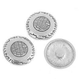 Wholesale Silicon Pattern - Hot 10PCs Snap Buttons Charms Pattern Carved Fit Snap Bracelets K01069 (Over $120 Free Express) bracelet silicon