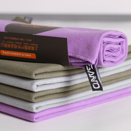 Wholesale Travel Towels Wholesale - New Fashion 31x75cm Sports Towel Outdoor Camping Travel Swimming Microfiber Towels Quick Drying Facecloth Washcloth Out Door Towel