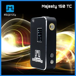 Wholesale Electronic Cigarette Shenzhen - Top selling 150 watt box mod electronic cigarette Shenzhen best temp control box mod with memory function