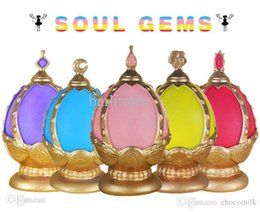Wholesale Madoka Soul Gem - Wholesale-cosplay accessories prop Puella Magi Madoka Flashing magical girl SOUL GEMS handmade electronic lamp worked with batteries