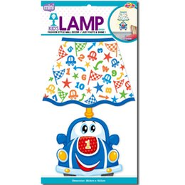 Wholesale Led Toys Wholesale China - wholesale Wall Lights Toys Figures Led Christmas Lights Birthday Gifts for Childs Lighting Sticker China Supplier Night Lamp