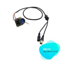 Wholesale Ccd Dsp Color - SONY Effio DSP CCD Color 4mm Glimmer Lens Camera Multilingual OSD Menu