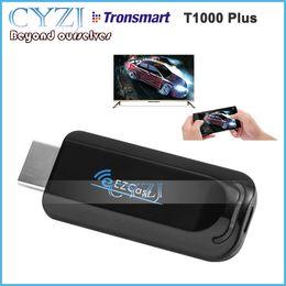 ac hdmi Скидка Tronsmart T1000 Plus Ezcast Dongle AM8251 128MB 802.11 AC 5G Wifi & USB power HDMI OTA Mirror2TV Miracast DLNA Airplay